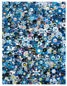 TAKASHI MURAKAMI  Not yet titled, 2012  Acrylic on canvas mounted on board 74 13/16 x 60 1/4 inches  (190 x 153 cm)  © Takashi Murakami/Kaikai Kiki Co., Ltd. All Rights Reserved.